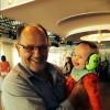 'Det här var en rolig farbror & dansa med' tänkte Edvin. Edvin & Ronny, Uppsala 17 maj 2014width=